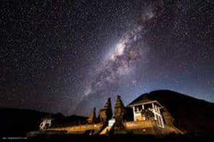 Mount Bromo Milky Way Astrophotography Stargazing Tour Package